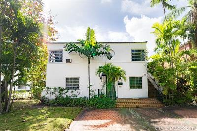 Coral Gables Multi Family Home For Sale: 400 Alcazar Ave