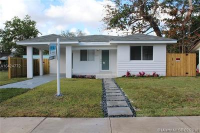 Coconut Grove Single Family Home For Sale: 3637 Charles Ave
