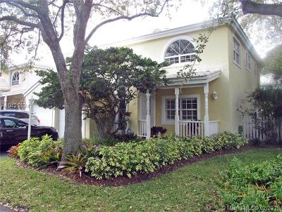 South Miami Single Family Home For Sale: 6493 Sunset Dr