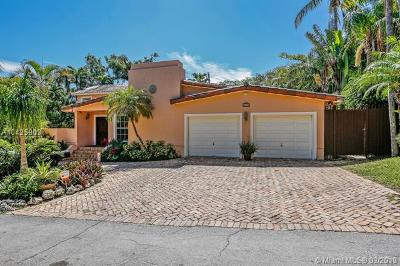 Coconut Grove Single Family Home For Sale: 3560 N Bay Homes Dr