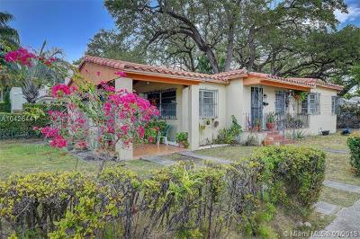 Coconut Grove Single Family Home For Sale: 2751 Kirk St