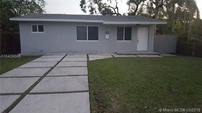 South Miami Single Family Home For Sale: 6066 SW 62nd Ter