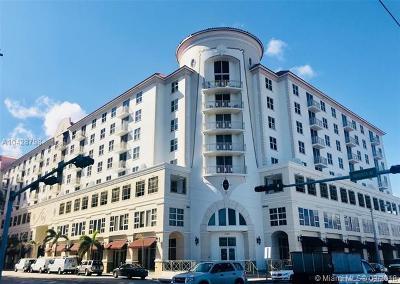 Coral Gables Condo/Townhouse For Sale: 2030 S Douglas Rd #705