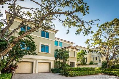 Coconut Grove Single Family Home For Sale: 3506 Bayshore Villas Dr