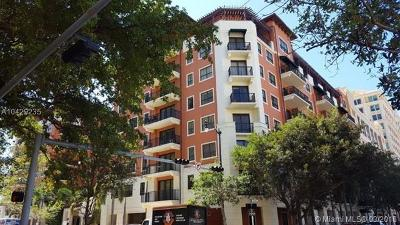 Coral Gables Condo/Townhouse For Sale: 100 Andalusia Ave #610
