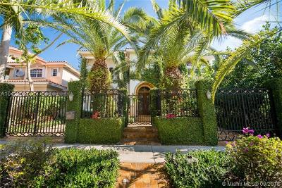 Coconut Grove Single Family Home For Sale: 3203 Kirk St