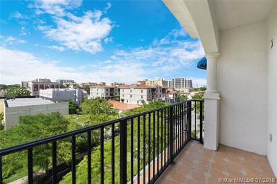 Coral Gables Condo/Townhouse For Sale: 118 Zamora #505