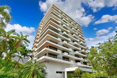 Coral Gables Condo/Townhouse For Sale: 720 Coral Way #5C