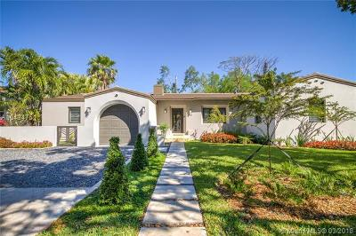 Coral Gables Single Family Home For Sale: 231 Fluvia Ave