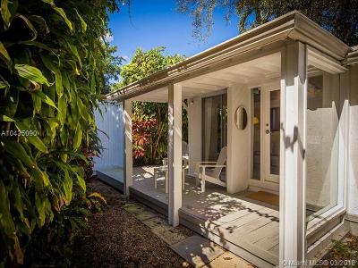 Coconut Grove Single Family Home For Sale: 3741 Kumquat Avenue