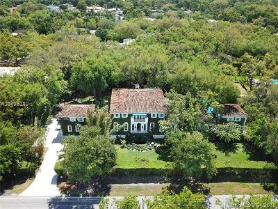 Coral Gables Single Family Home For Sale: 506 Sunset Dr