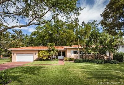 Coral Gables Single Family Home For Sale: 545 San Servando Ave