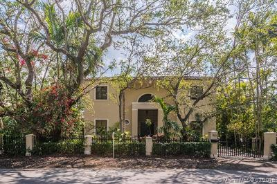 Coral Gables Single Family Home For Sale: 150 W Sunrise Ave