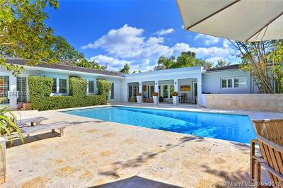 Coral Gables Single Family Home For Sale: 7900 Altamira Ave