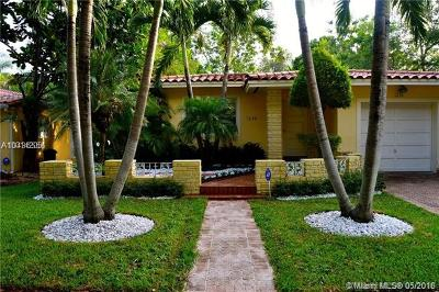Coral Gables Single Family Home For Sale: 1236 Milan Ave