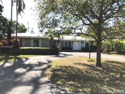 Coral Gables Single Family Home For Sale: 4010 University Dr