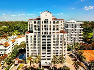 Coral Gables Condo/Townhouse For Sale: 721 Biltmore Way #501