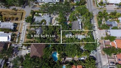 Coconut Grove Single Family Home For Sale: 3117 Indiana St