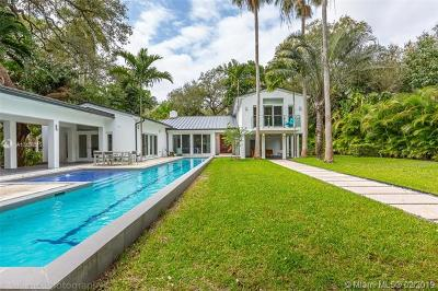 Coconut Grove Single Family Home For Sale: 2900 Natoma St