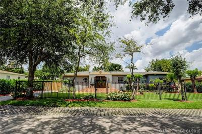 South Miami Single Family Home For Sale: 6609 SW 65th St