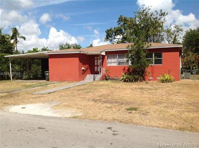 South Miami Single Family Home For Sale: 5885 SW 60th Ave