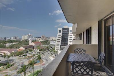 Coral Gables Condo/Townhouse For Sale: 600 Biltmore Way #1105