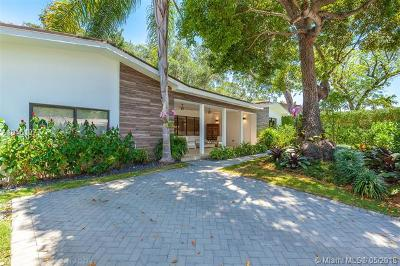 Coconut Grove Single Family Home For Sale: 81 W Shore Dr
