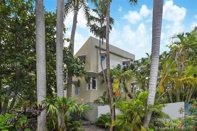 Coconut Grove Single Family Home For Sale: 3695 Stewart Avenue