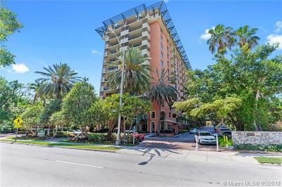 Coconut Grove Condo/Townhouse For Sale: 2951 S Bayshore Dr #707