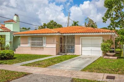 Coral Gables Single Family Home For Sale: 828 Genoa St