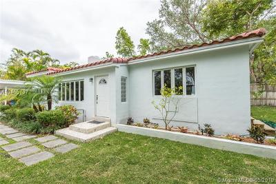 Coconut Grove Single Family Home For Sale: 4225 S Le Jeune Rd
