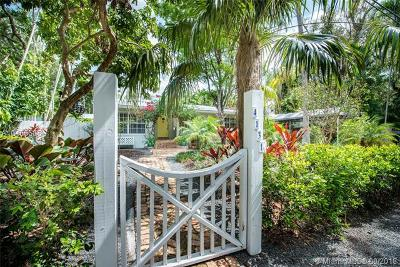 Coconut Grove Single Family Home For Sale: 4131 Lybyer