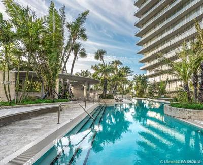 Coconut Grove Condo/Townhouse For Sale: 2669 S Bayshore Dr #1602-N