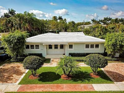 South Miami Single Family Home For Sale: 5720 SW 84th St