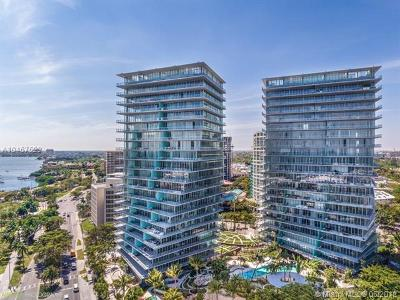 Coconut Grove Condo/Townhouse For Sale: 2675 S Bayshore Dr #1001S
