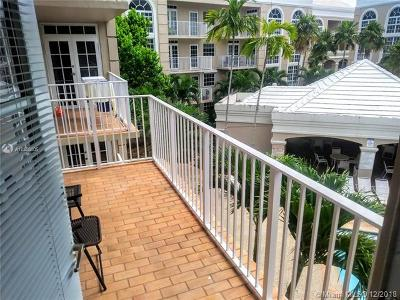 Coral Gables Condo/Townhouse For Sale: 1280 S Alhambra Cir #2304