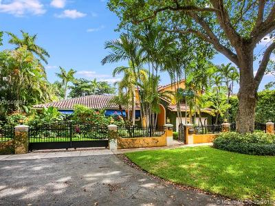Coral Gables Single Family Home For Sale: 1116 Sorolla Ave
