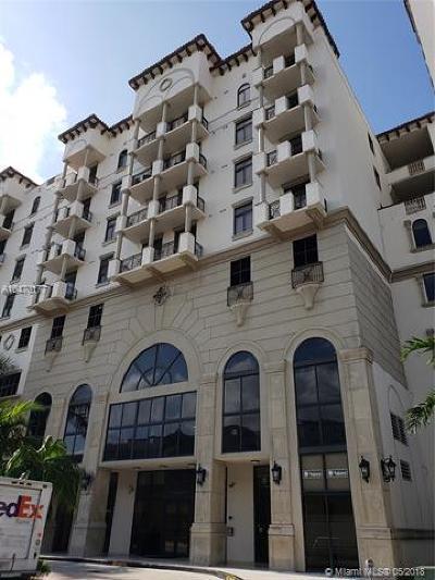 Coral Gables Condo/Townhouse For Sale: 1805 Ponce De Leon Boulevard #521