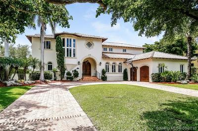 Coral Gables Single Family Home For Sale: 11045 Tanya St