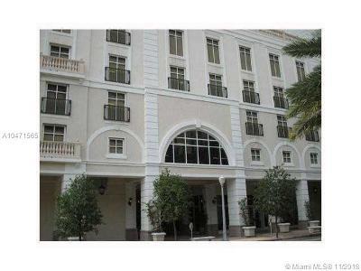 Coral Gables Condo/Townhouse For Sale: 10 Aragon Av #803