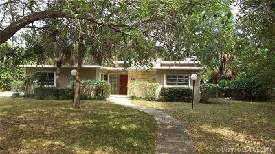 South Miami Single Family Home For Sale: 7051 SW 69th Ave
