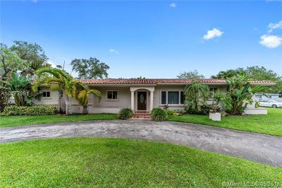 South Miami Single Family Home For Sale: 5775 SW 80th St