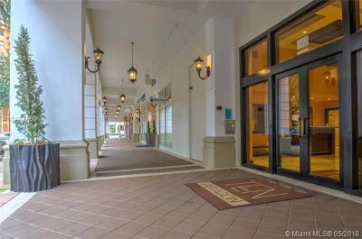 Coral Gables Condo/Townhouse For Sale: 10 Aragon Ave #1011
