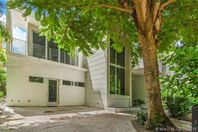 Coconut Grove Single Family Home For Sale: 4080 Ensenada Ave