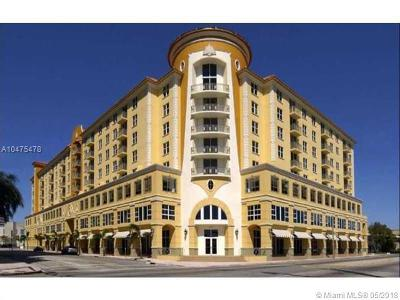 Coral Gables Condo/Townhouse For Sale: 2030 S Douglas Rd #514