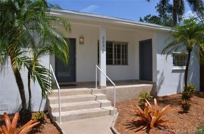 South Miami Single Family Home For Sale: 6646 SW 78th Ter