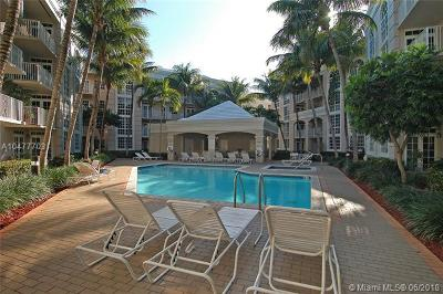 Coral Gables Condo/Townhouse For Sale: 1280 S Alhambra Cir #1419
