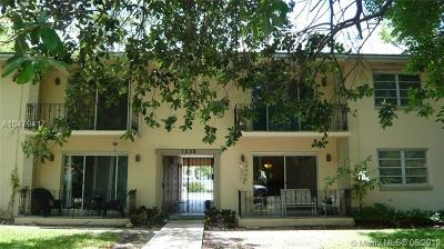 Coral Gables Condo/Townhouse For Sale: 1239 Mariposa Ave #7