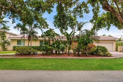 Coral Gables Single Family Home For Sale: 1420 Trillo Ave