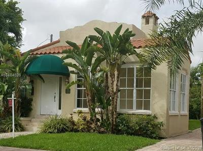 Coral Gables Single Family Home For Sale: 1225 Algeria Ave